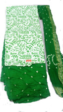 Cotton bandhani salwar dupatta varli print dress material