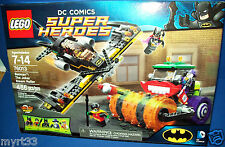 LEGO 76013 SUPER HEROES DC Comics BATMAN The Joker Steam Roller NISB 5-figures
