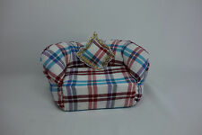 Blythe Barbie Miniature Handmade Furniture sofa couch chair doll house #11