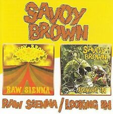 Raw Sienna/Looking In [Remaster] by Savoy Brown (CD, Jun-2005, Beat Goes On)
