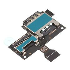 MODULO FLEX LECTOR SIM + MICRO SD PARA SAMSUNG GALAXY S4 MINI I9195 REFURBISH