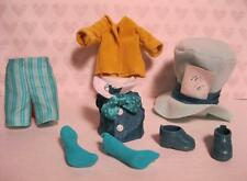 Barbie KELLY SHELLY DOLL Clothes-Alice in Wonderland TOMMY MAD HATTER BOY OUTFIT
