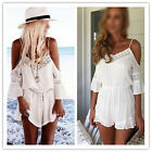 New Women Ladies Clubwear V Neck Playsuit Bodycon Party Jumpsuit Romper Trousers