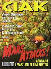 rivista CIAK ANNO 1997 NUMERO 2 MARS ATTACK