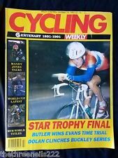 CYCLING WEEKLY - STAR TROPHY FINAL - OCT 19 1991
