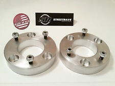 "[SR] Billet 2"" Front Leveling Lift Kit 04-15 Ford F150 4WD 2WD (Strut Spacer)"