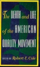 The Death and Life of the American Quality Movement, , 0195092066, Book, Very Go