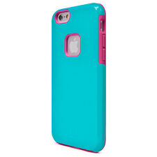 iLuv Regaata Dual Layer iphone 6/6s case - Teal/Pink