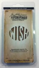Sizzix Tim Holtz WISH Movers & Shapers Magnetic Dies Alterations Collection