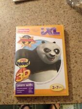 FISHER PRICE IXL KUNG FU PANDA 2 3D GAME WITH 3D GLASSES INCLUDED