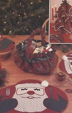 Simplicity 316 Vintage Sewing Pattern Christmas Bun Warmer Place Mats Napkins