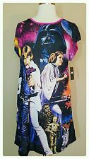 STAR WARS Princess Leia Sleep Shirt Women's Plus Size 2X Nightgown Pajamas NWT