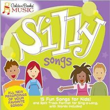 Silly Songs Golden Books Music Audio CD