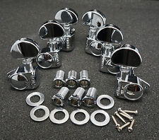 Grover Rotomatic 102-18 Nickel TUNERS 3x3 for Gibson Les Paul Full Size Upgrade