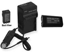 Battery + Charger for Ricoh Caplio R1 R1S R1V R2 R1Z