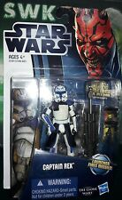 """Star WarsClone WarsCaptain RexPhase 2armor3.75"""" Fig, CW No.13. Hard to find"""