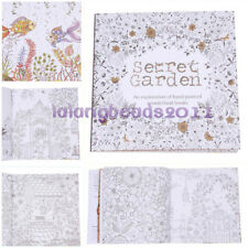 New Adult Kids English Version Of The Secret Garden Coloring Book 20 Pages LA