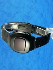 Rare old style modern futuristic 70s seventies space age mens led l.e.d watch 99