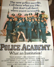 Steve Guttenberg  POLICE ACADEMY(1984) Original 2 sheet movie poster