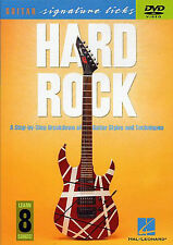 Troy Stetina Hard Rock Guitar Signature Licks Learn to Play Metal Music DVD