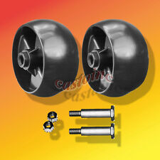 2 Replaces Cub Cadet 734-04155 Deck Wheels+Bolt Offset Hub