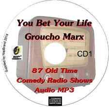206 Old Time Radio An Evening With Groucho Marx & You Bet Your Life OTR 3CDs MP3