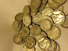 FRI-SUN-SPECIAL =1/4OZ.++ 90%   JUNK  SILVER COIN LOT- NO  NICKELS!!!