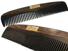 Dr. Dittmar Styling comb for men real HORN & TIGER WOOD 7 7/8in HANDMADE Germany