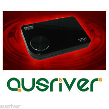 Creative Sound Blaster X-FI 5.1 Surround Pro External USB Sound Card SBX Optical
