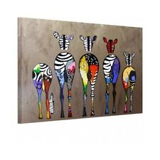 Modern Paintings Wall Art Cute Colorful Animal Picture Print Decor Home Office