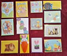 LOT of 13 PAPYRUS EASTER Greeting Cards ~ Adorable, Cute, Sweet, Unique, Sealed