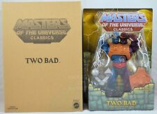 Masters of the Universe Classics TWO BAD!! NEW!!!