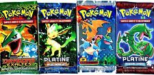 ① 4 BOOSTERS de CARTES POKEMON Neuf Aucun double en FRANCAIS (Lot N° AAA)