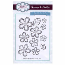 Stamps to Die For by Sue Wilson UMS681 Shaded Camellia
