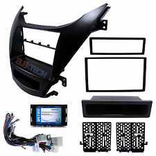 Radio Replacement Interface Steering Control & Dash Kit 2-DIN Pocket for Hyundai