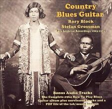 Block, Rory & Stefan Grossman-Country Blues Guitar: Rare Archival RecordinCD NEW