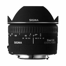 Sigma 15mm F/2.8 EX DG Diagonal Fisheye For Canon