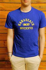tee shirt bleu nuit KANABEACH domitie TAILLE M  NEUF ÉTIQUETTE valeur 39€