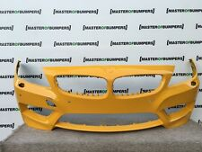 BMW Z4 M SPORT E89 2009-2015 FRONT BUMPER GENUINE YELLOW [B745]