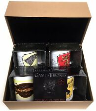 Game Of Thrones - Gift Hamper 1 - Containing 4 Assorted Mugs & Boxed Coaster Set
