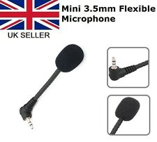 MINI microfono flessibile 3.5mm Microfono Per PC Laptop Skype MSN CHAT VOIP online