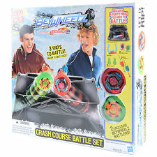 Crash Course Battle Set 2 Exclusive Battlers 3 Ways To Battle BeyBlade Beywheelz