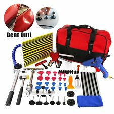 65x Paintless Hail Repair Dent Puller Lifter PDR Tools Auto Body Removal Kits