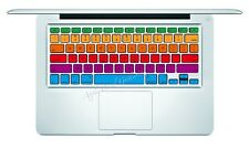 Rainbow Macbook Pro Air Keyboard Decal Sticker Skin 13 15 17 inch Wireless CS