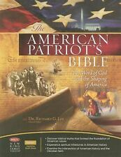 NKJV, The American Patriot's Bible, Bonded Leather, Navy: The Word of God and t