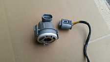 BMW 3 Series E46 HEADLIGHT DIP DIPPED BEAM BULB HOLDER and Wiring LOOM in GREY