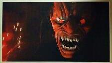 "RED DEMON GIANT WIDE 42"" x 24"" Poster Satan Devil Halloween Horror Man Cave Evil"