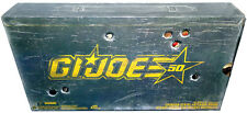 GI Joe 50th Anniversary Crimson Strike Set MIB SDCC San Diego Comic Con Exclusve