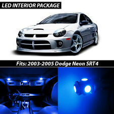 2003-2005 Dodge Neon SRT4 Blue Interior LED Lights Package Kit