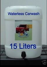 No H2o Waterless Car Wash - 15 Liter Drum